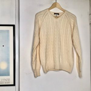Loro Piana • Cable Knit Sweater Cashmere Sweater